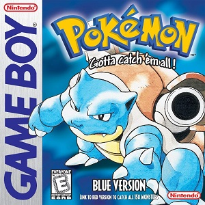 Pokémon Blue Version facts