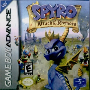 Spyro Attack of the Rhynocs facts