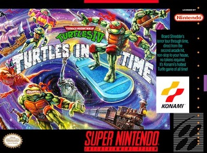 Teenage Mutant Ninja Turtles IV Turtles in Time facts