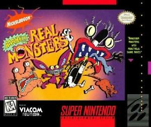 Aaahh!!! Real Monsters facts and statistics