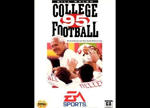 Bill Walsh College Football '95 facts and statistics