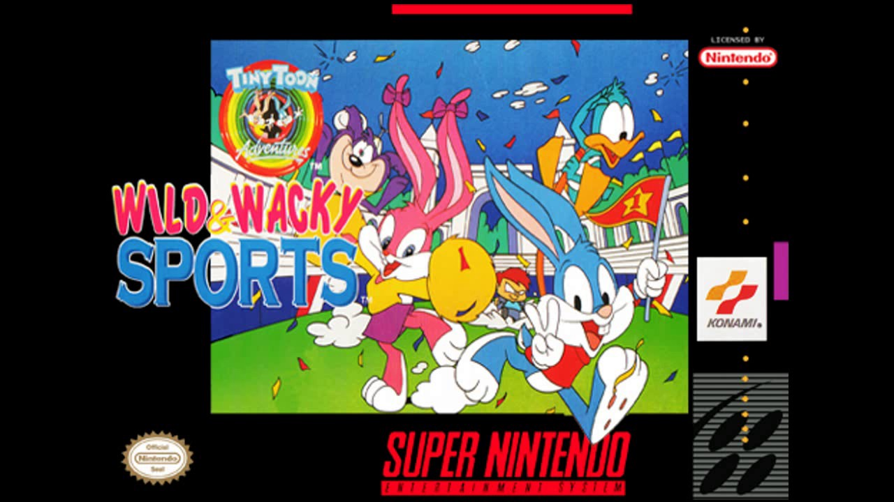 Tiny Toon Adventures Wacky Sports Challenge facts and statistics