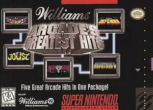 Williams Arcade's Greatest Hits facts and statistics