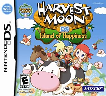 Harvest Moon DS Island of Happiness facts statistics