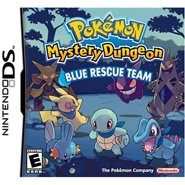 Pokémon Mystery Dungeon Blue Rescue Team facts statistics