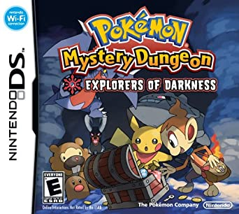 Pokémon Mystery Dungeon Explorers of Darkness facts statistics