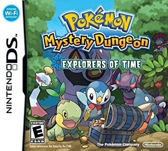 Pokémon Mystery Dungeon Explorers of Time facts statistics