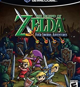 The Legend of Zelda Four Swords Adventures facts statistics