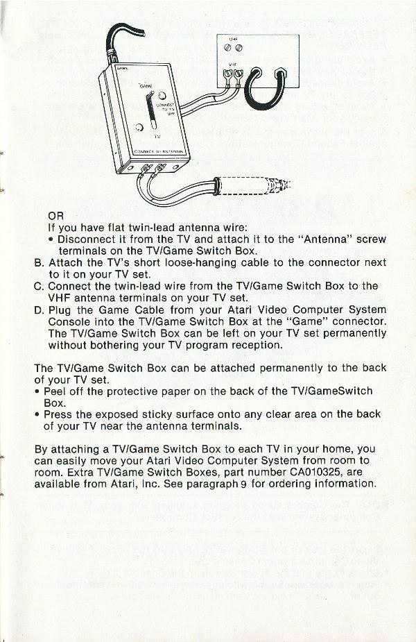 Atari Owner's Manual 2