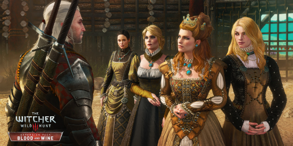 The Witcher 3: Wild Hunt Blood and Wine banner