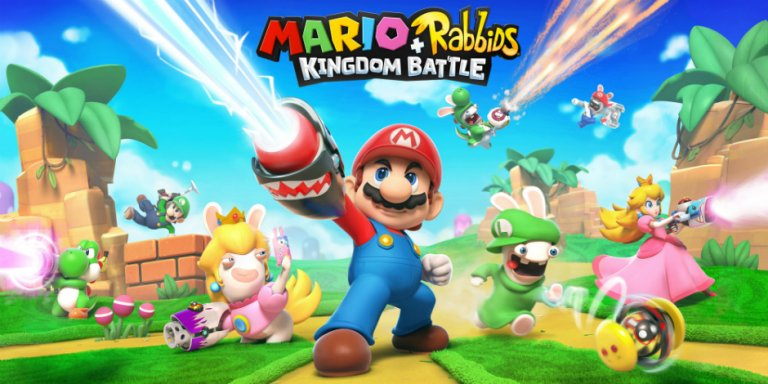 Mario + Rabbids Kingdom Battle megaslide