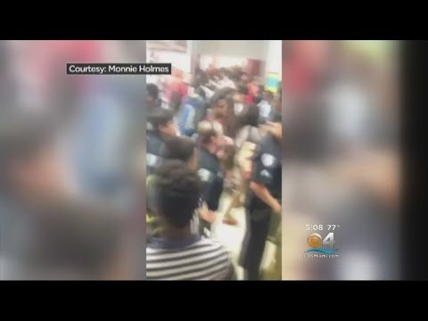 Police Called Over Disruptive Food Fight At Sunrise School