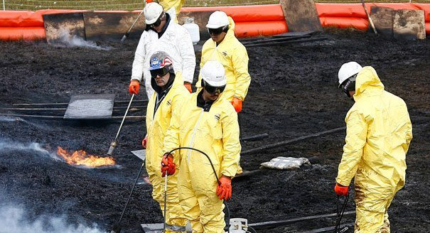 BP Spills Oil…Again