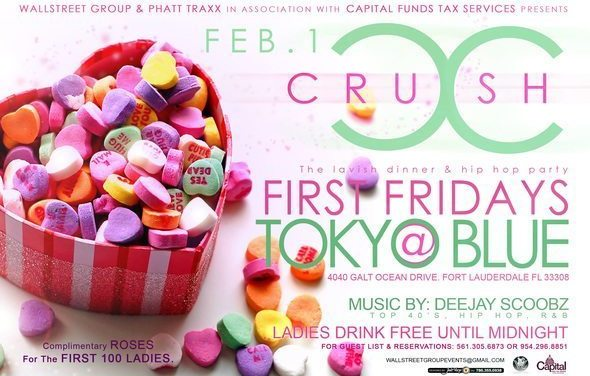 Ladies Drink Free Tonight at Tokyo Blue!