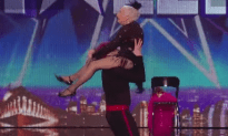 Old Lady Wows the Pants of Simon With Her Salsa Moves in Britain's Got Talent