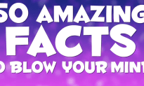 50 Amazing Facts To Blow Your Mind