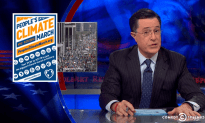 Stephen Colbert on the Climate Change March