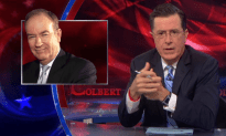 Bill O'Reilly is Not Happy with Stephen Colbert
