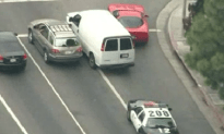 LA Car Chase Ends With Suspect Beat Down