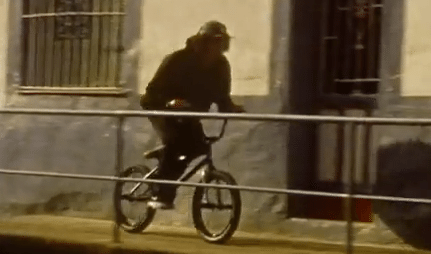 Dope BMX Street Riding on 8mm Film