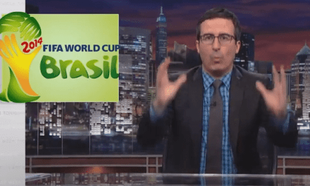 John Oliver Explains Why FIFA is an Evil Organization