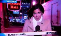 Newscaster Blows A Snot Rocket All Over Her Microphone, Still Reports The News…