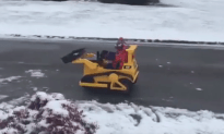 Sam Curry Took Snow Removal into his Own Hands