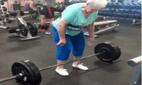 Grandma That Can Deadlift Two Hundred Twenty Five Pounds
