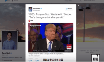 Anderson Cooper Calls Out The Trump For Acting Like A Five Year Old