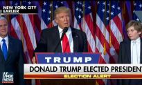 Donald Trump Elected as the 45th President of the United States