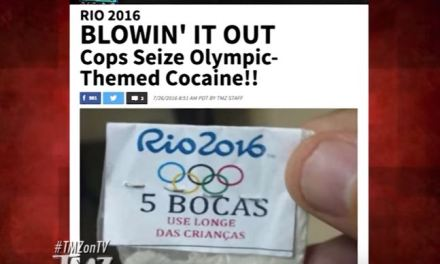 Rio 2016: Cops Seize Olympic-Themed Cocaine!!