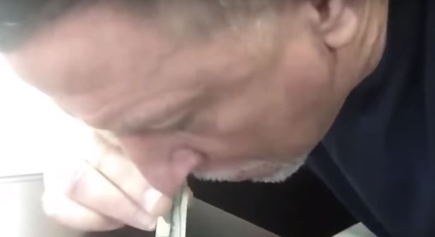 Miami Dolphins Offensive Line Coach Shows Video Of Him Snorting Cocaine