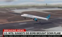 U.S. Intel Shows New Data About The Final Seconds of Metrojet Flight 9268