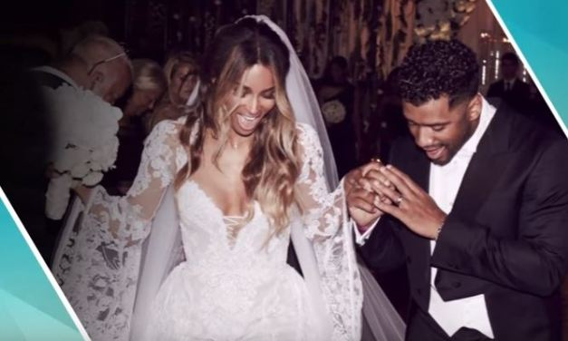 Ciara and Russell Wilson Tie The Knot