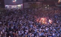 North Carolina Fans Celebrate National Championship By Setting Themselves On Fire