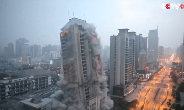 Watch a Huge Building in China Get Demolished