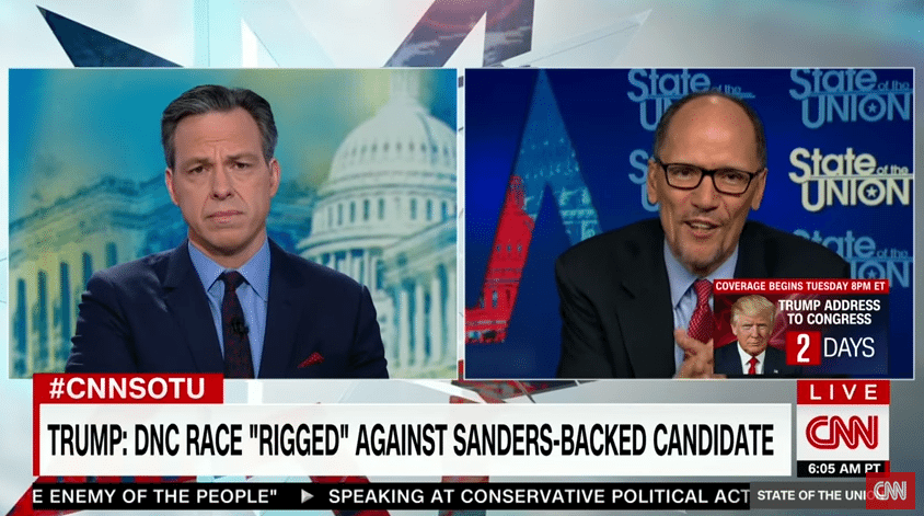 DNC Chair Calls For Independent Investigation Into Trump and Russia