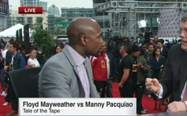 Floyd Mayweather Talks About the Upcoming Pacquio Fight