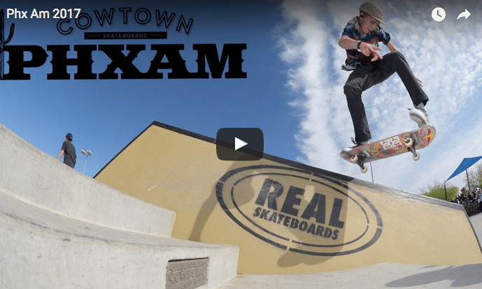 Phoenix Am 2017 Skate Competition Highlights