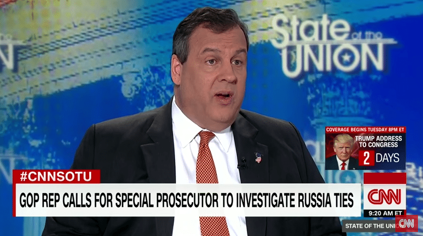 "Chris Christie – ""Look Into These Matters With Integrity"""