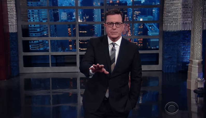Colbert Makes Sense Of Trump's Relationship With Putin
