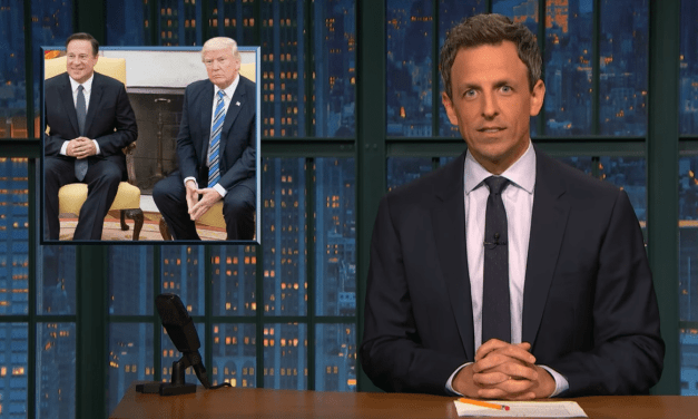 Trump Takes Credit for the Panama Canal – Seth Meyers