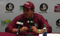 Jimbo Fisher Goes Off On The Refs During Post Game