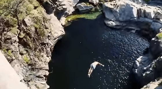 Cliff and Crane Diving with Adrenaline Addiction