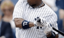 Yankee Outfielder Breaks His Forearm in First Spring Training Game