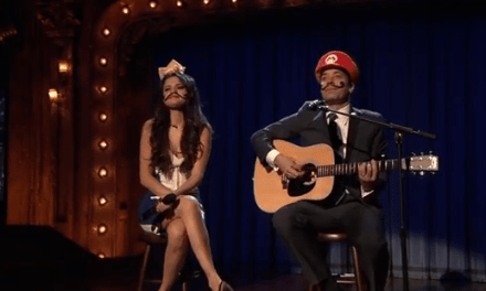 "Jimmy Fallon & Selena Gomez Cover ""Mario Kart Love Song"""