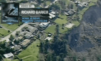 Home Owner on the Edge of Giant Landslide is Living in the Danger Zone