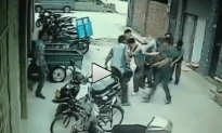 Workers Miraculously Catch Falling Baby