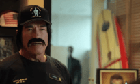 Arnold Schwarzenegger Working Undercover At Gold's Gym