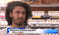 Store Clerk/MMA Champ Stomps Store Robbers